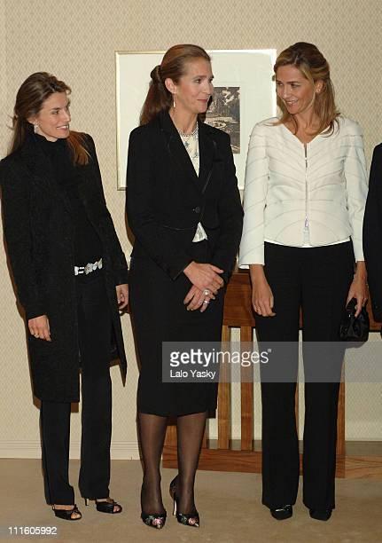 Princess Letizia Elena of Spain and Cristina of Spain