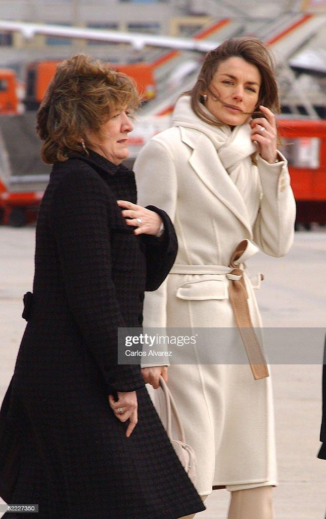 Spanish Royals Leave For Brazilian Visit : News Photo