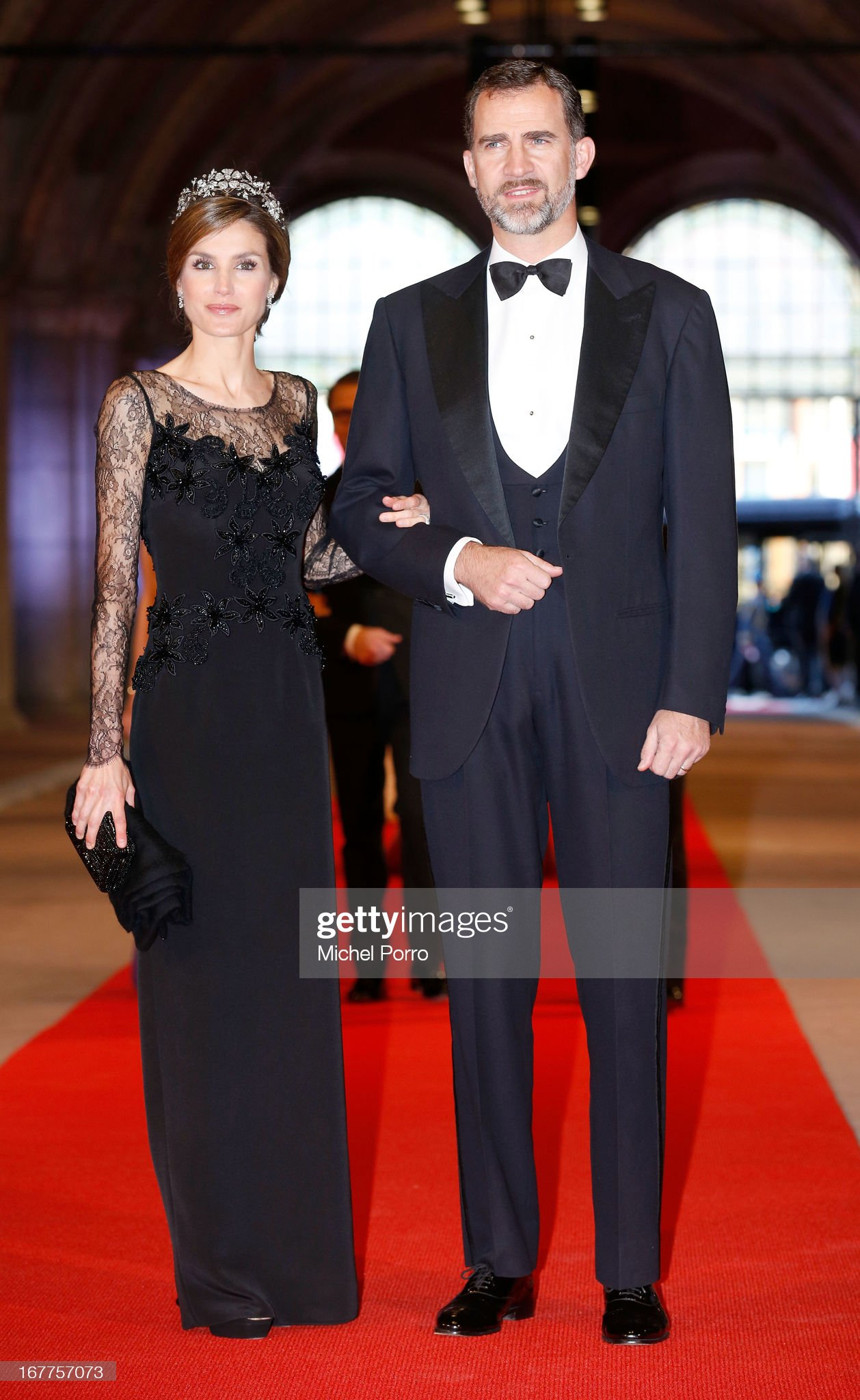 Queen Beatrix Of The Netherlands Hosts A Dinner Ahead Of Her Abdication : News Photo