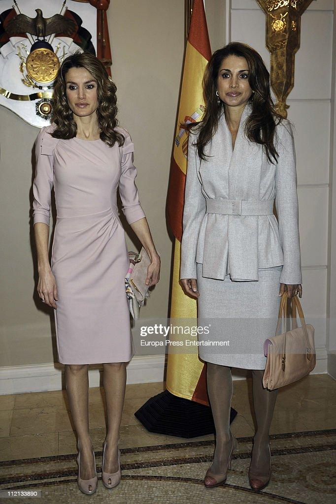 Spanish Royals Visit Jordan : News Photo