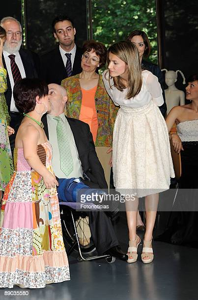 Princess Letizia of Spain attends '2nd Fashion and Special needs Conference' at Museo el Traje on June 15 2009 in Madrid Spain