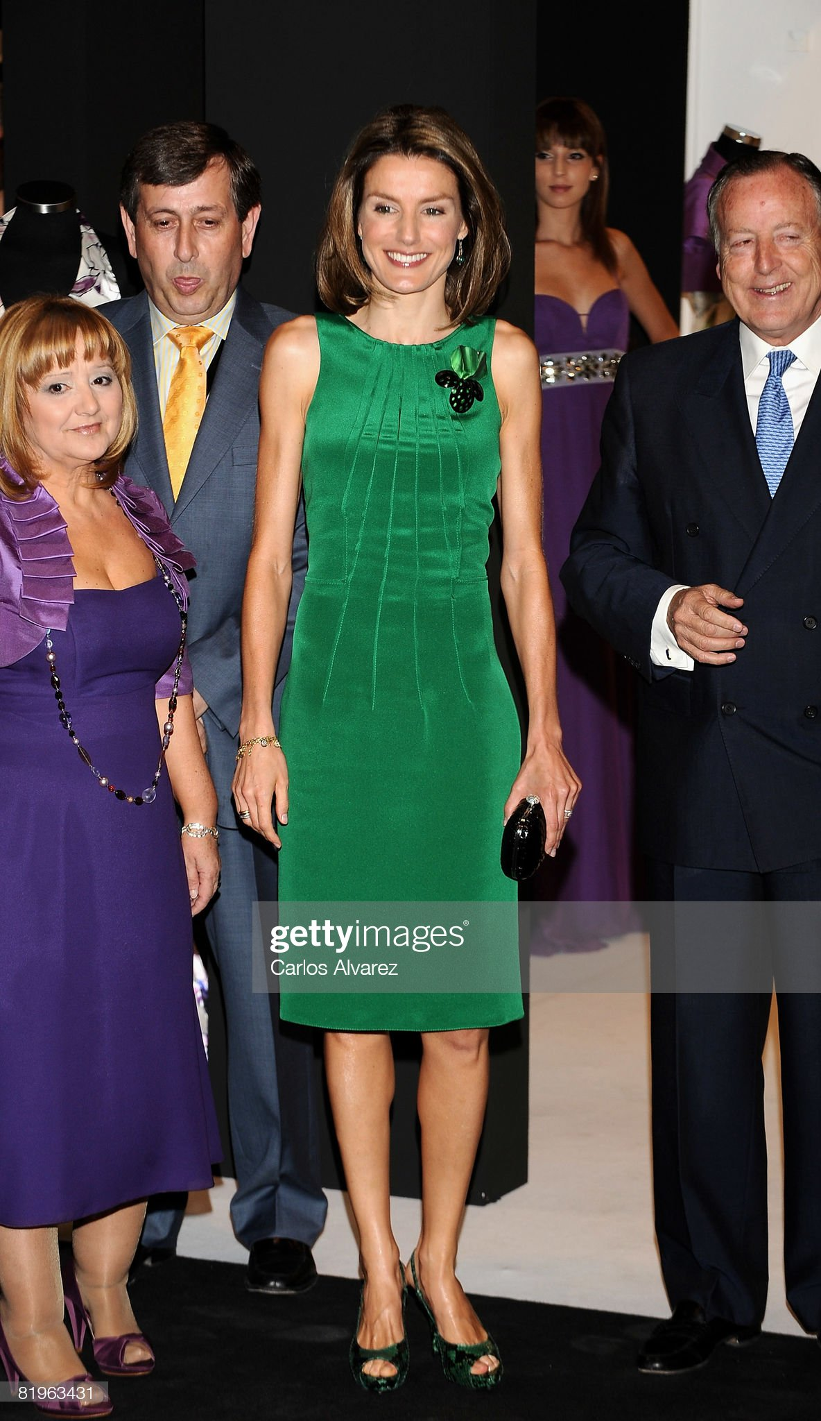Princess Letizia Attends 60th SIMM Opening : News Photo