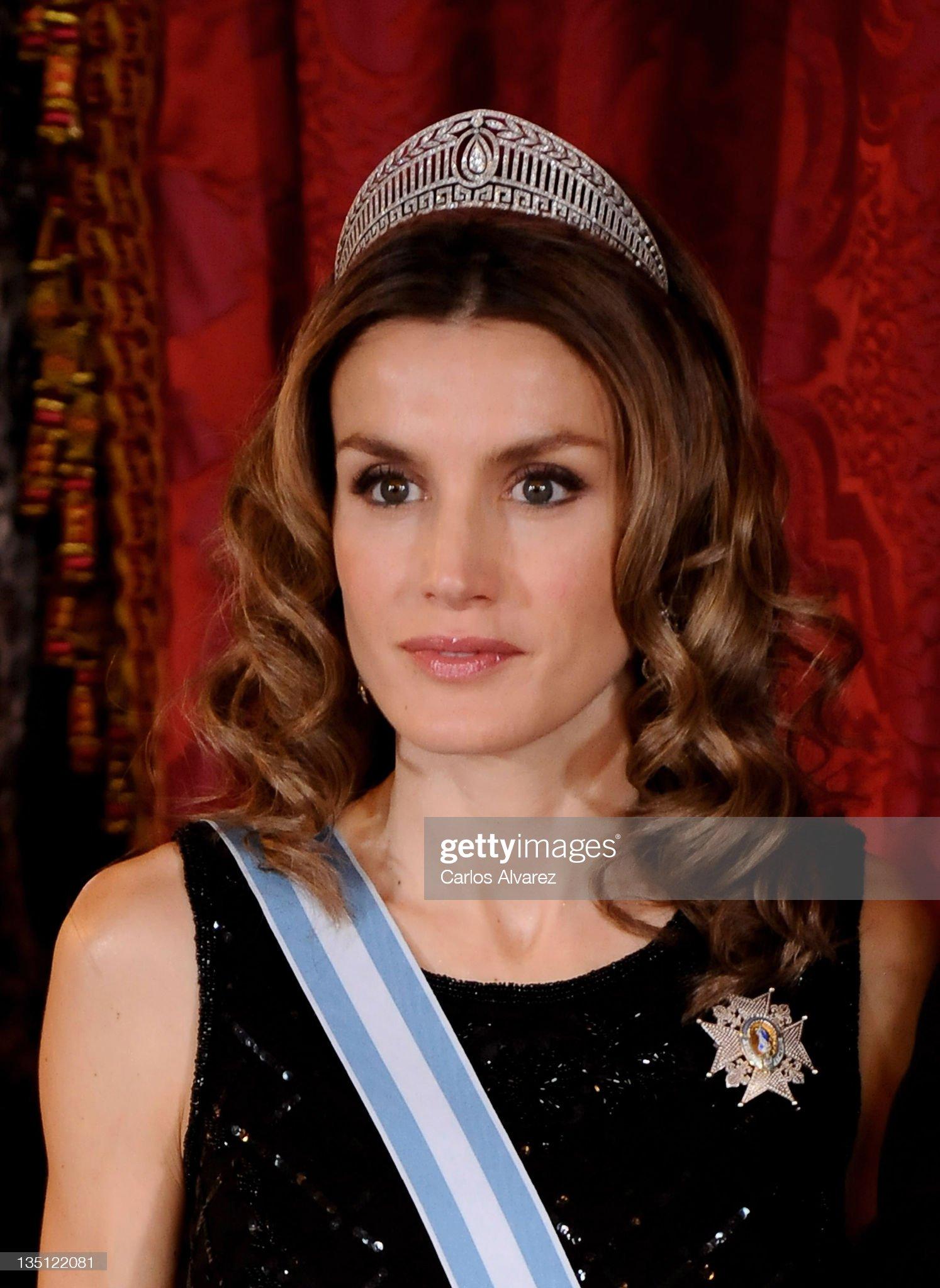 Spanish Royals Host Gala Dinner In Honour Of The President Of Vietnam : News Photo