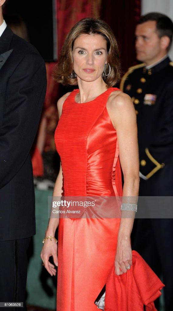 "Prince Felipe & Princess Letizia At ""Actualidad Economica"" Anniversary : News Photo"