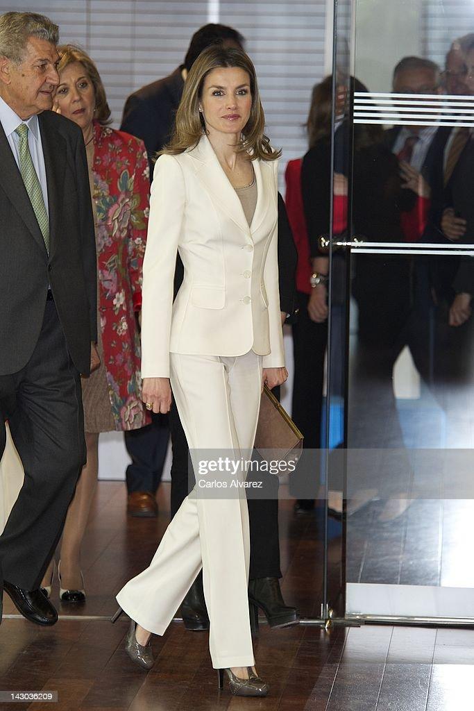 Spanish Royals attend 'Club Internacional de Prensa' 50th Anniversary in Madrid : News Photo