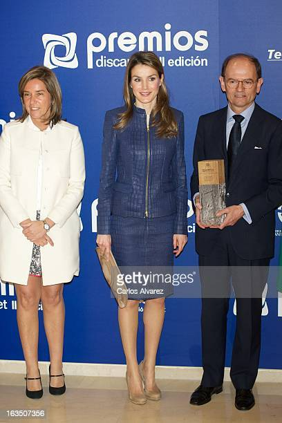 Princess Letizia of Spain attends 'Discapnet Awards' 2013 at the ONCE building on March 11 2013 in Madrid Spain