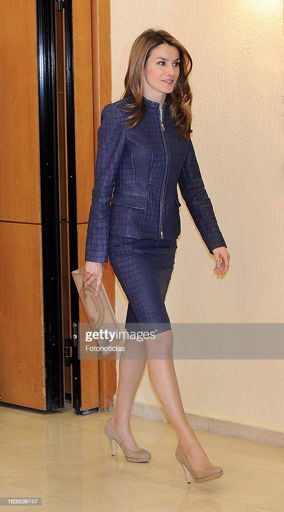 Princess Letizia of Spain Attends 2012 'Discapnet Awards' 2013 : News Photo
