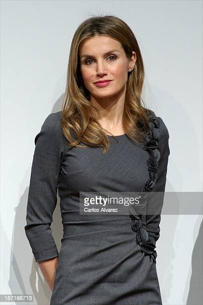 Princess Letizia of Spain attends Premios Magisterio 2012 at Caixa Forum on November 29 2012 in Madrid Spain