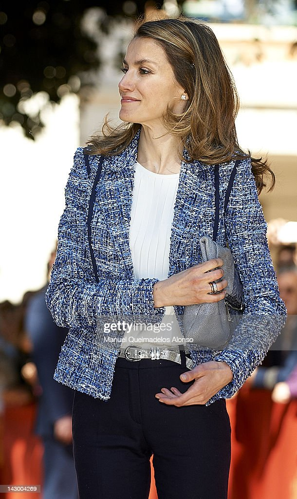 Spanish Royals Attend 5th Centenary of 'Hospital Reial Y General' Closing Ceremony in Valencia : News Photo