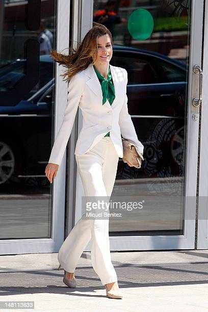 Princess Letizia of Spain attends the Closure of 'European Association for Cancer Research' Congress on July 10 2012 in Barcelona Spain