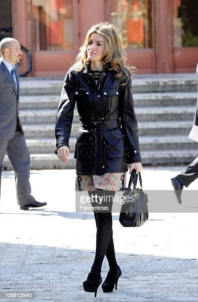 Princess Letizia of Spain attends the 'Discapnet' Awards 2011 ceremony at the ONCE on March 10 2011 in Madrid Spain