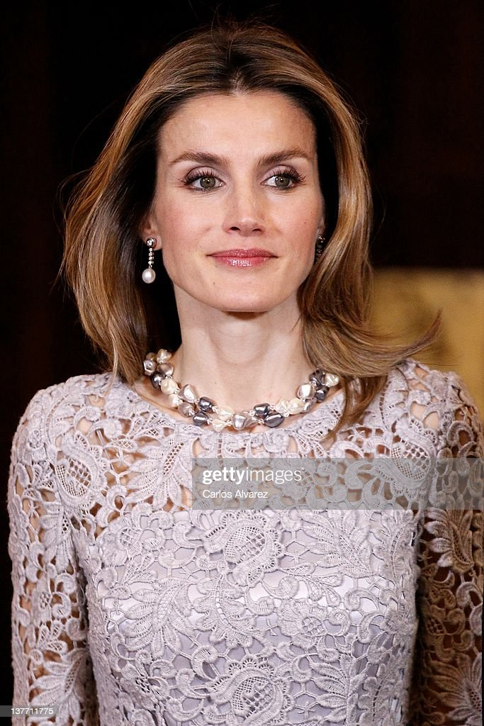 Spanish Royals Host Dinner in Honour of Peruvian President Ollanta Humala : News Photo