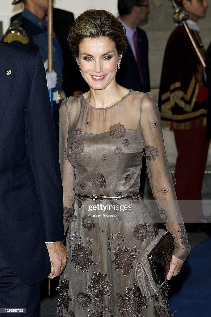 Principes de Asturias Awards 2011 - Day 2 : News Photo