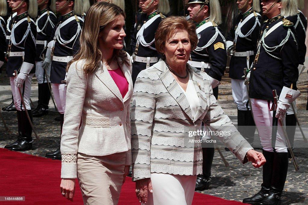 Spanish Royals Visit Portugal - Day 1