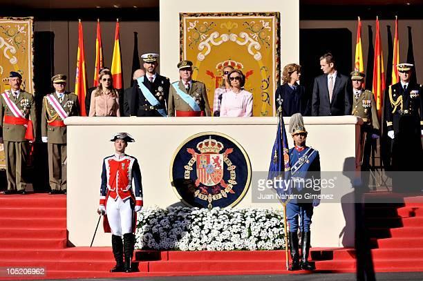 Princess Letizia of Spain Prince Felipe of Spain King Juan Carlos I of Spain Queen Sofia of Spain Princess Elena of Spain Princess Cristina of Spain...