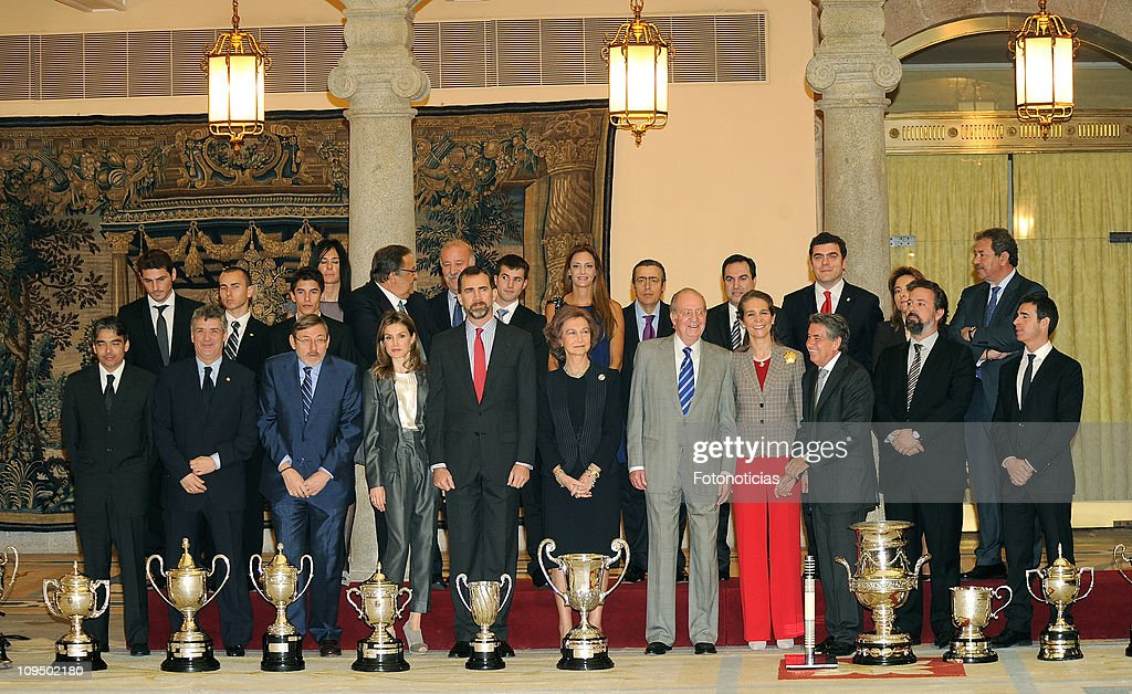 Spanish Royals Present National Sports Awards