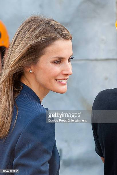 Princess Letizia of Spain visits Professional Training Center 'Piramide' on October 15 2013 in Huesca Spain