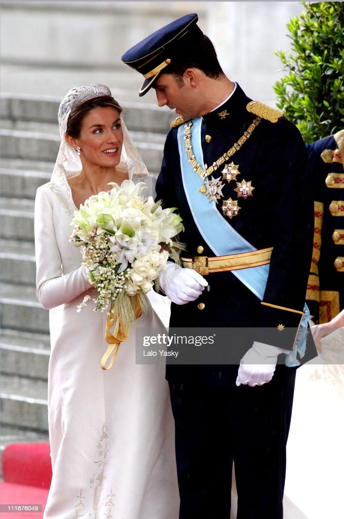 Royal Wedding Between Prince Felipe of Spain and Letiza Ortiz : Nieuwsfoto's