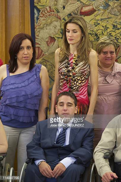 Princess Letzia attends audiences in The Zarzuela Palace In Madrid Spain On June 28 2010Princess Letzia attends an Audience to a representation of...