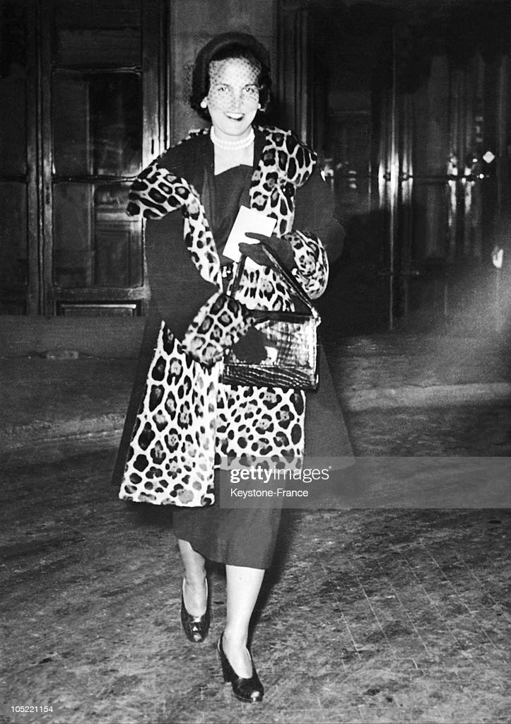 Princess De Rethy In Paris In 1949 : News Photo