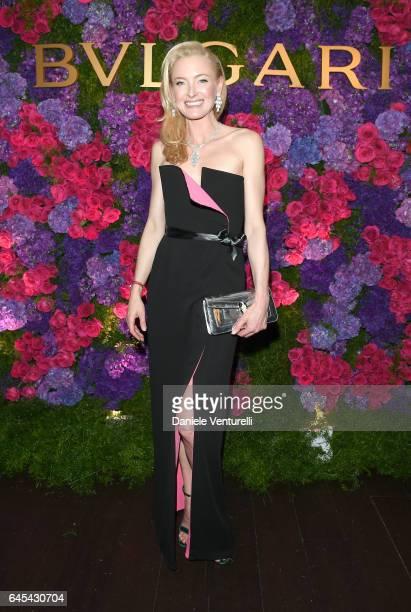 Princess Lilly Zu Sayn Wittgenstein Berleburg attends Bulgari's PreOscar Dinner at Chateau Marmont on February 25 2017 in Hollywood United States