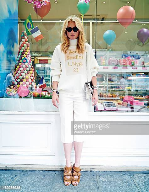 Princess Lilly Zu Sayn Wittgenstein Berleburg is photographed for In-Style magazine on July 7, 2012 in Paris, France.