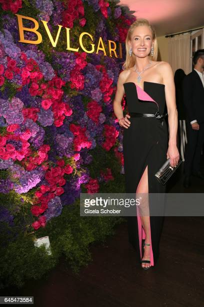 Princess Lilly zu SaynWittgensteinBerleburg during the Bulgari PreOscars party at hotel Chateau Marmont on February 25 2017 in Los Angeles California