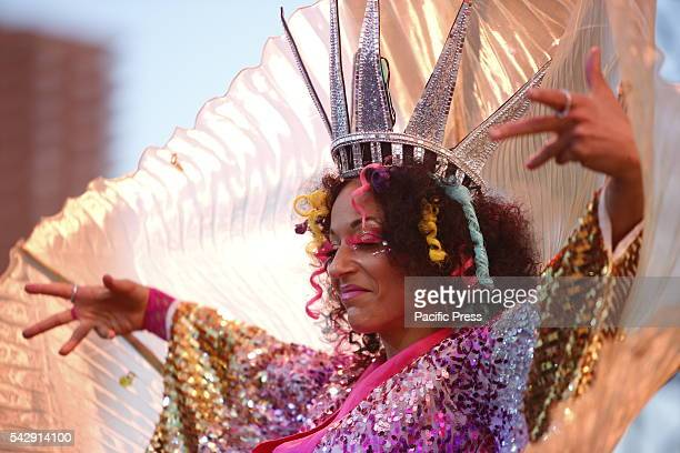 Princess Lockeroo takes the stage A day of action that included a transgender rights rally on Hudson River Park's pier 46 concluded with a massive...