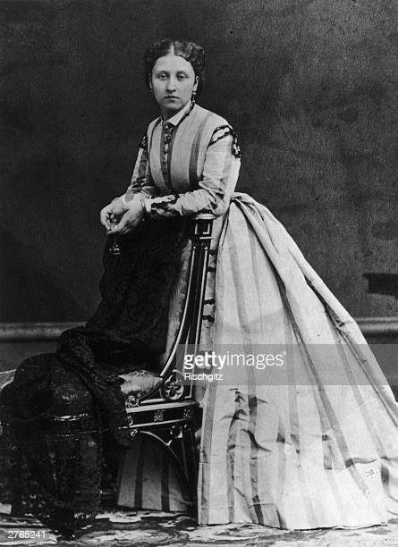Princess Louise Caroline Alberta wife of the 9th Duke of Argyll and daughter of Queen Victoria circa 1876