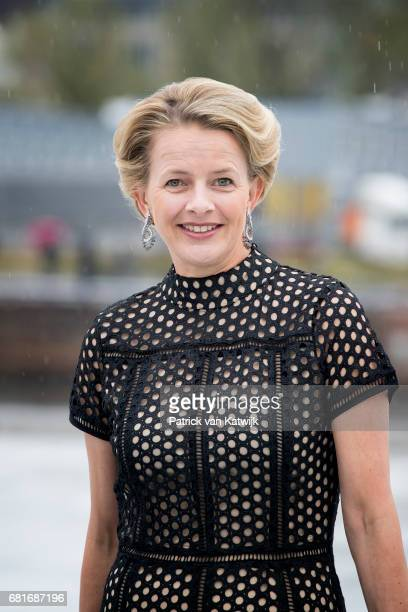 Princess Mabel of OrangeNassau arrives at the Opera House on the ocassion of the celebration of King Harald and Queen Sonja of Norway 80th birthdays...