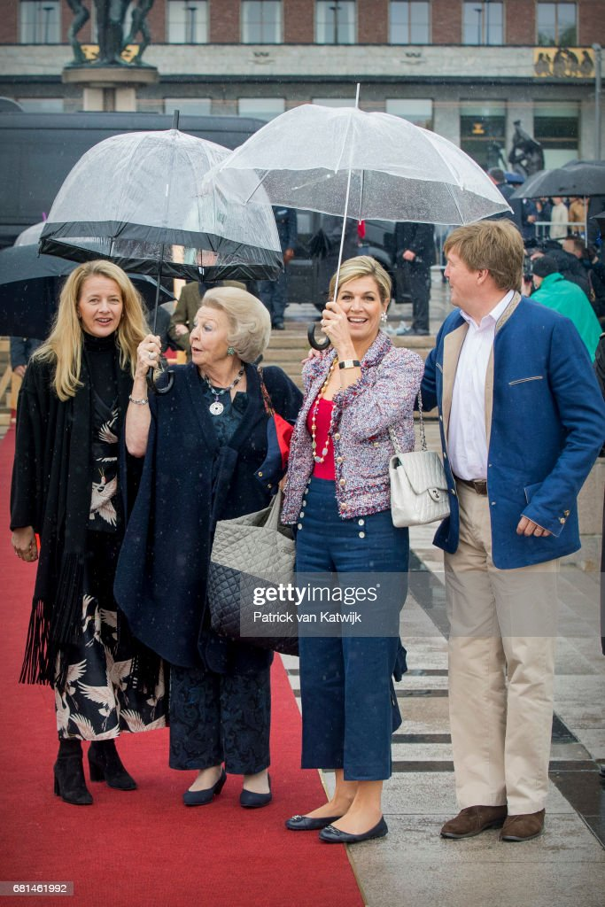 King and Queen Of Norway Celebrate Their 80th Birthdays - Lunch on the Royal Yacht - Day 2 : Foto jornalística