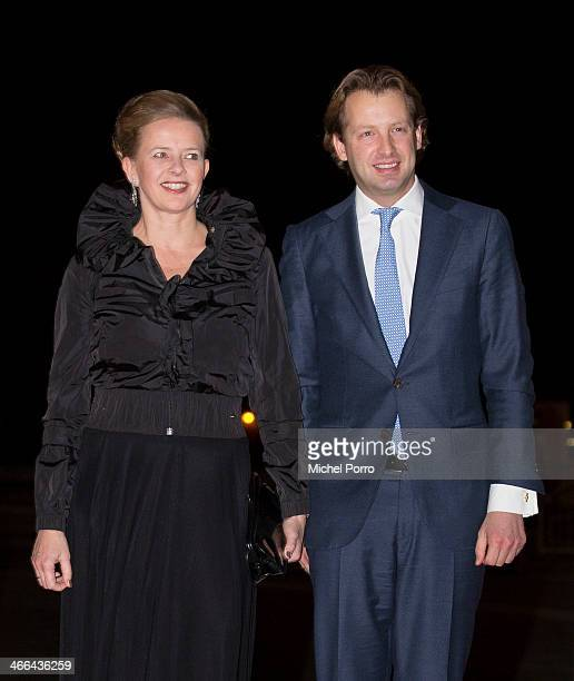 Princess Mabel of The Netherlands and Prince Floris of The Netherlands attends a celebration of the reign of Princess Beatrix on February 1 2014 in...
