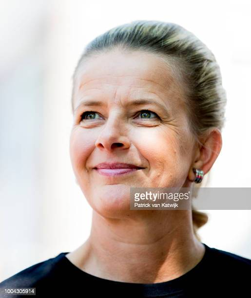 Princess Mabel of The Netherlands attends a protest march during the International Aids conference in the Rai on July 23 2018 in Amsterdam Netherlands