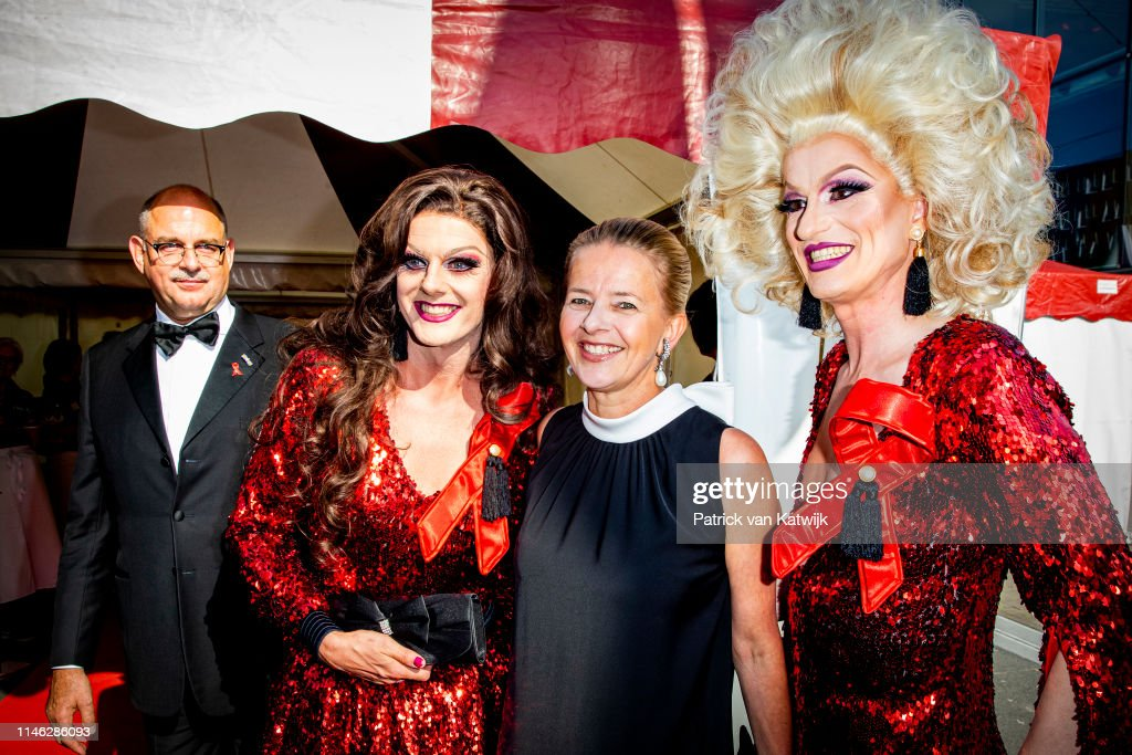 NLD: Princess Mabel Of The Netherlands Attends The Amsterdam Dinner