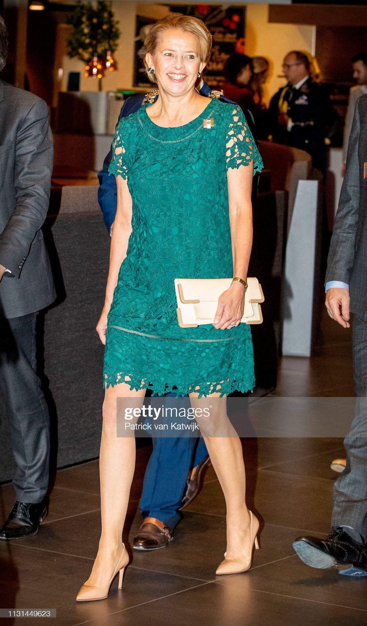 Princess Mabel Of The Netherlands And Princess Beatrix Netherlands Attend The Prince Friso Award In Veldhoven : News Photo
