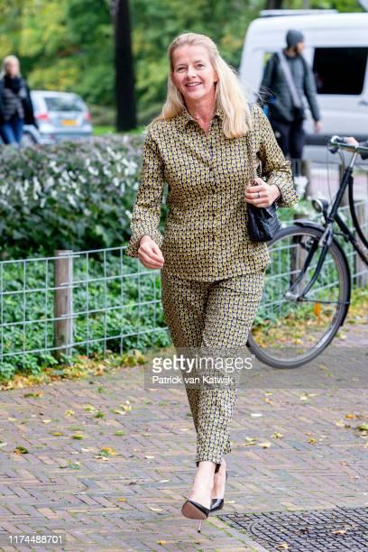 Princess Mabel of The Netherlands attends the conference Mental Health and Psychosocial Support in Koninklijk Instituut voor de Tropen on October 08,...
