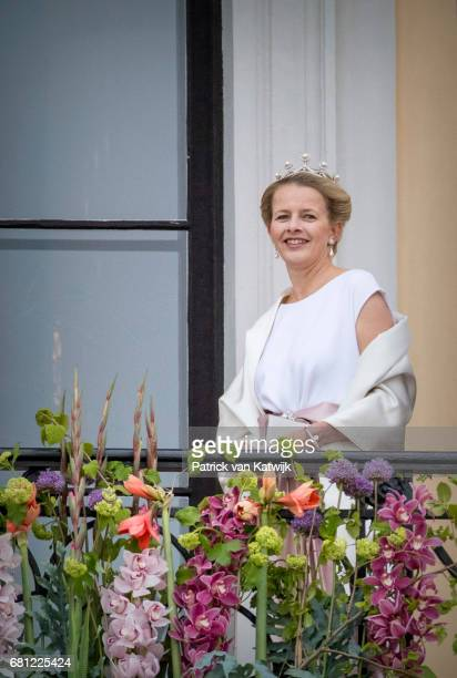 Princess Mabel of The Netherlands attends the official Gala dinner at the Royal Palace on May 9 2017 in Oslo Norway King Harald and Queen Sonja of...