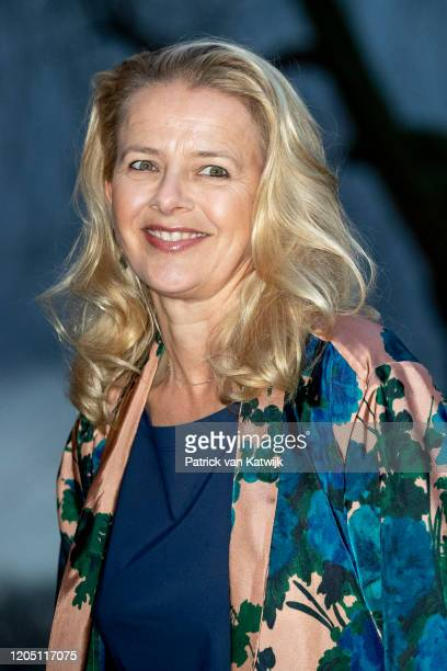 Princess Mabel of The Netherlands attends the Prince Friso engineer award on March 4, 2020 in Delft, Netherlands.