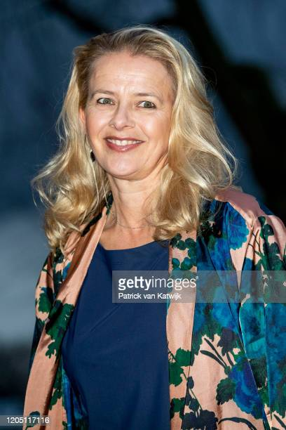 Princess Mabel of The Netherlands attends the Prince Friso engineer award on March 4 2020 in Delft Netherlands