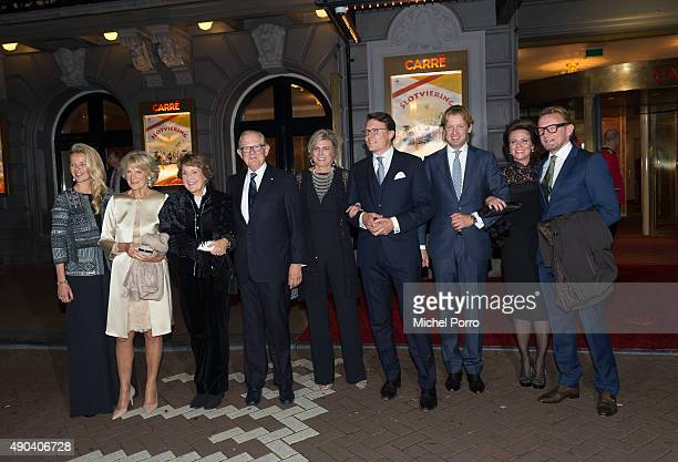 Princess Mabel Princess Margriet Pieter van Vollenhove Princess Laurentien Prince Constantijn Prince Floris Princess Annette and Prince Bernhard jr...