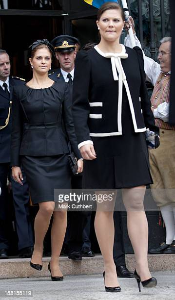 Princess Madeleine And Princess Victoria Of Sweden At The Opening Of The Parliamentary Session The Riksdag Stockholm