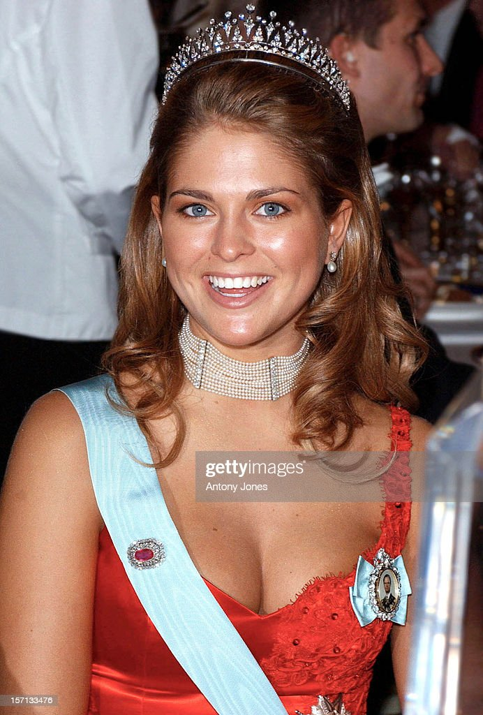 The 2002 Nobel Prize Presentation Banquet At The City Hall In Stockholm : News Photo