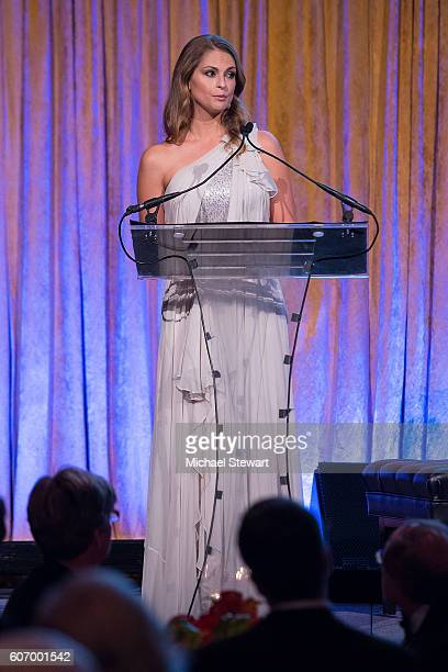 Princess Madeleine attends the World Childhood Foundation USA Thank You Gala 2016 at Cipriani 42nd Street on September 16 2016 in New York City