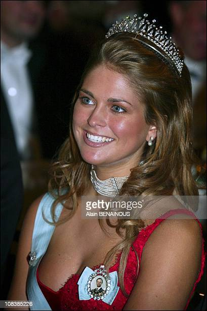 Princess Madeleine in Stockholm Sweden on December 10 2002
