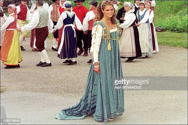 Princess Madeleine in Sweden on June 18 2001