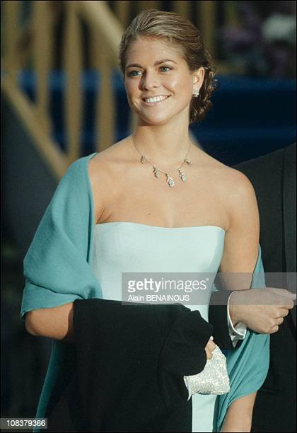 Princess Madeleine in Sweden on June 19 2001