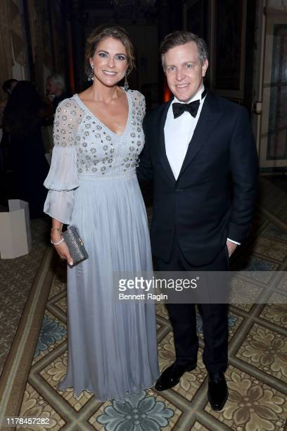 Princess Madeleine of Sweden and Ambassador Ken Howery attend the World Childhood Foundation USA's 20th Anniversary Thank You Gala 2019 at the Plaza...