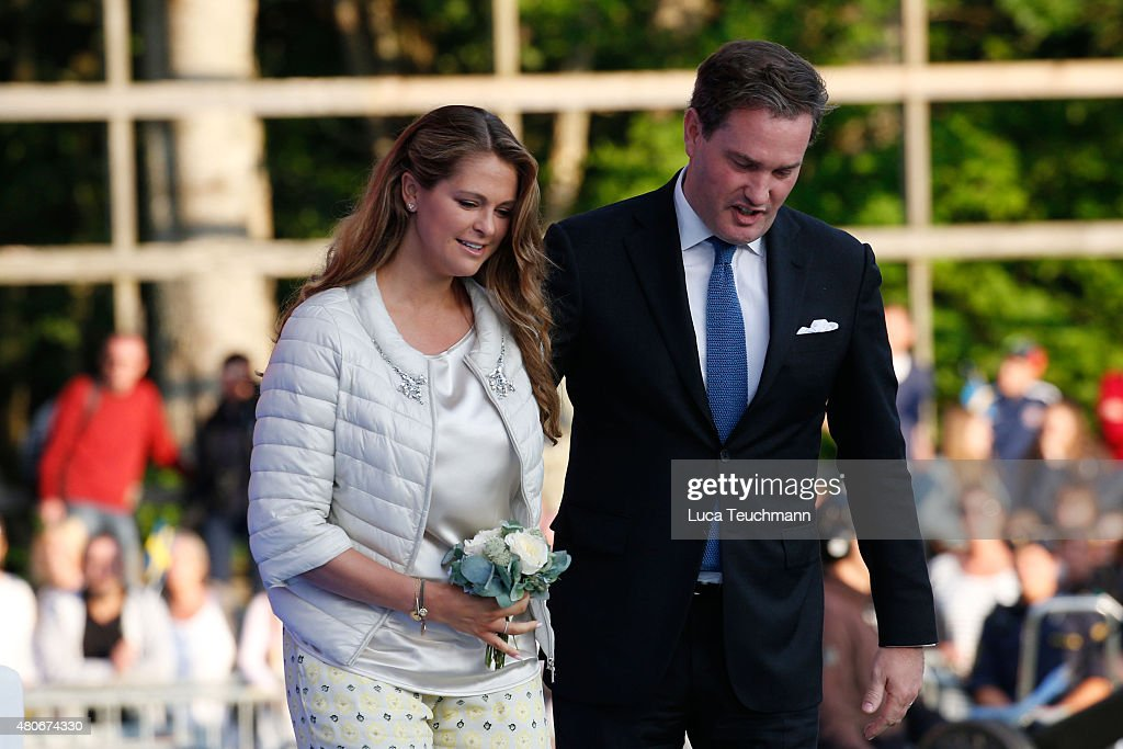 Swedish Royals Attend Victoria's Day : News Photo