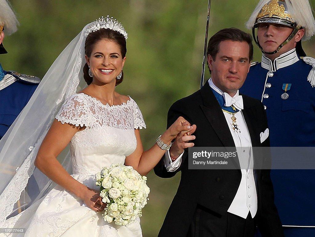 The Wedding Of Princess Madeleine & Christopher O'Neill - Evening Banquet : ニュース写真