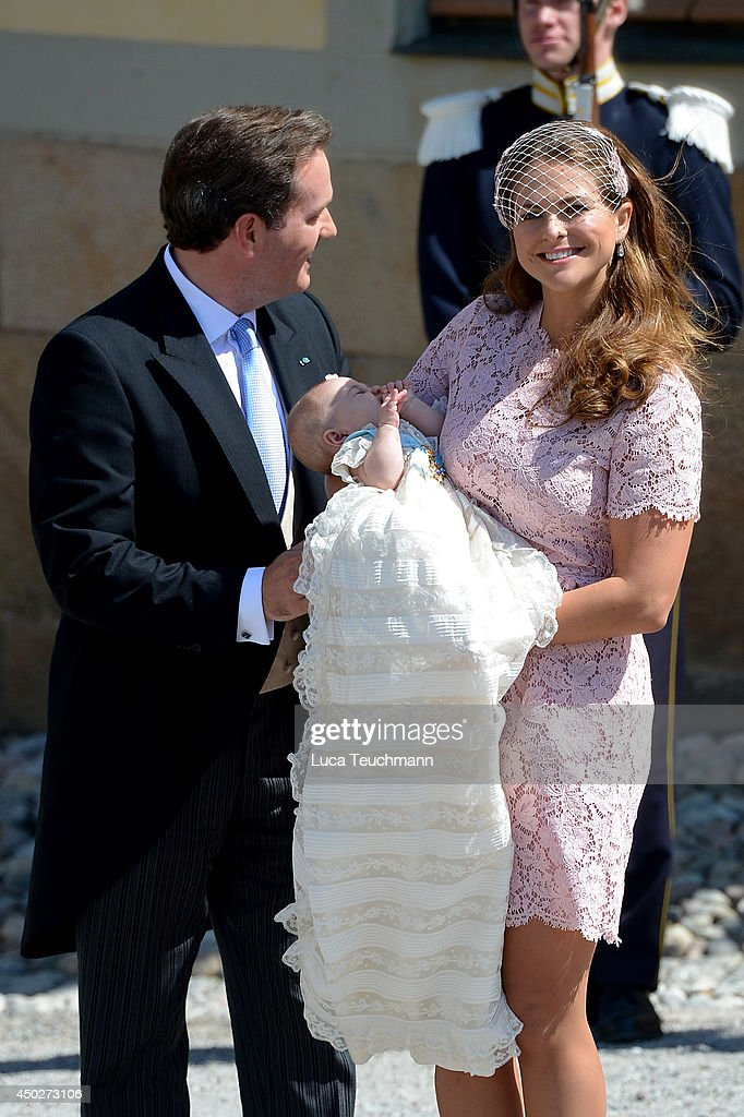 Princess Leonore's Royal Christening in Sweden : News Photo